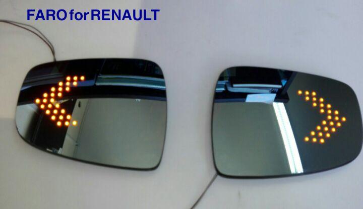 شیشه آینه راهنما دار رنو ساندرو