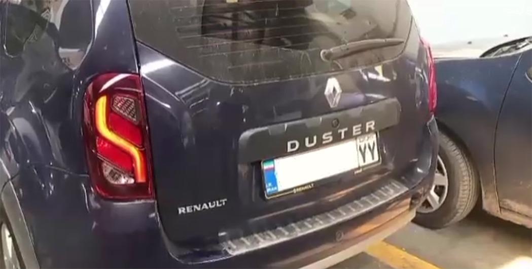 ویدئو چراغ خطر عقب مدل 2018 رنو داستر