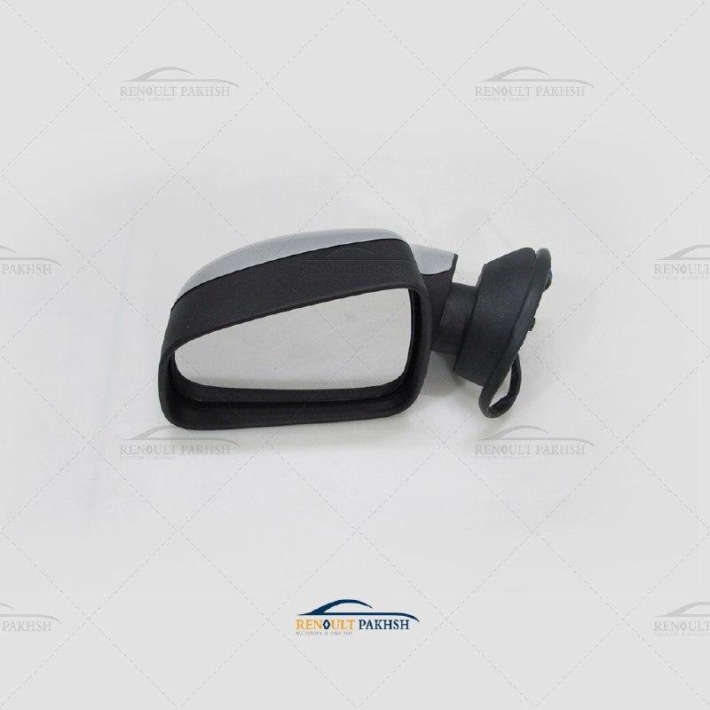 آینه جانبی برقی رنو ساندرو چپ - نقره ای