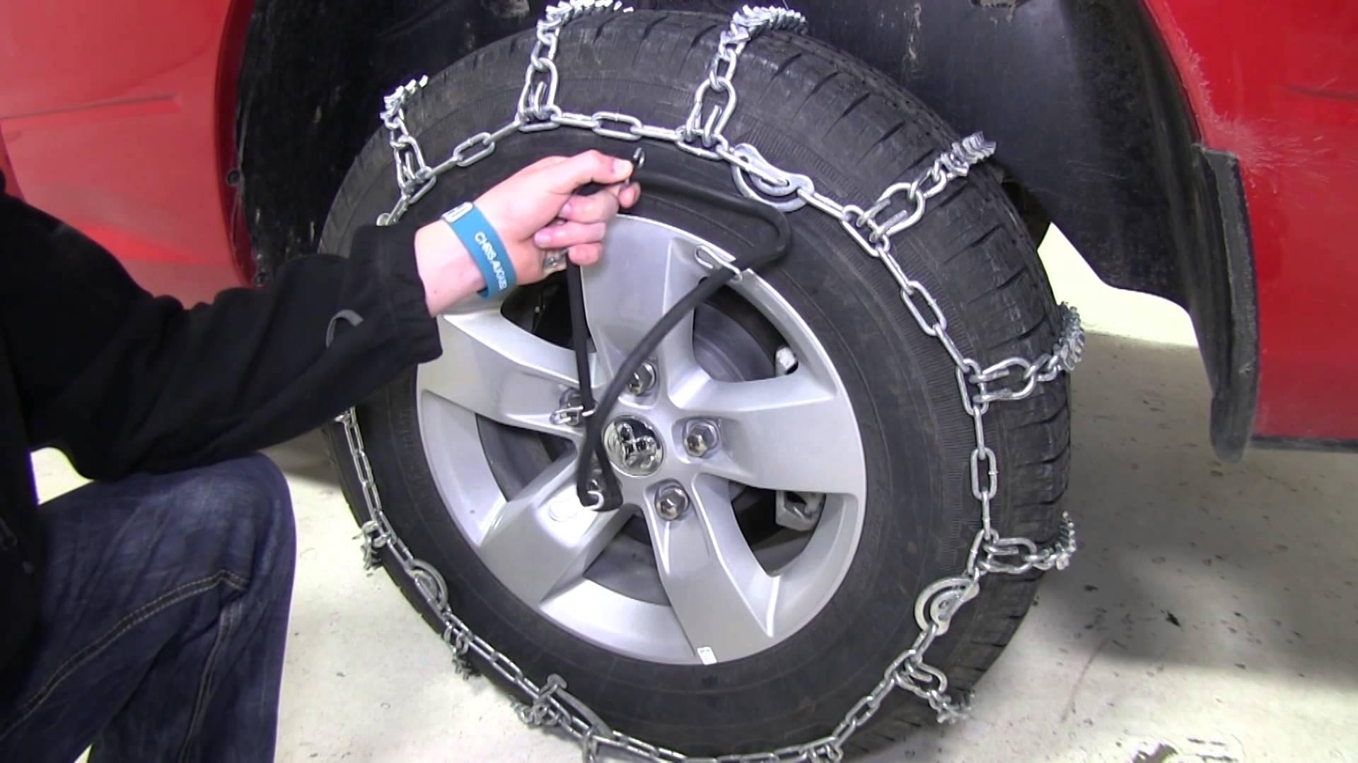 نحوه بستن و عملکرد زنجیر چرخ خودرو