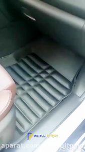 کف پایی قالبی (سه بعدی) رنو کولیوس NEW
