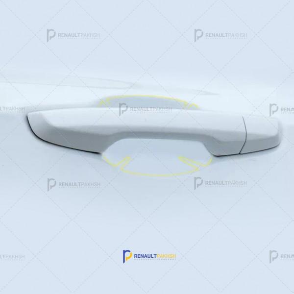 برچسب ضد خش زیر دستگیره - بی رنگ